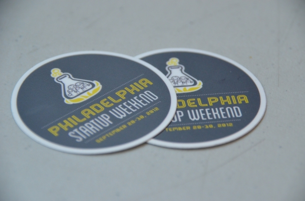 Philly Startup Weekend 4.0 Stickers