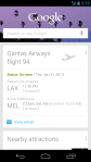 Google Now Flights Card