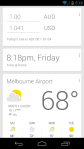 Google Now Foreign Travel Card