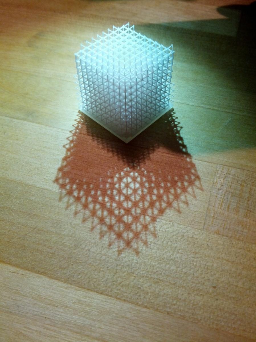 3D Printed Cube DesignPoint Philadelphia