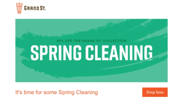 grand st email design